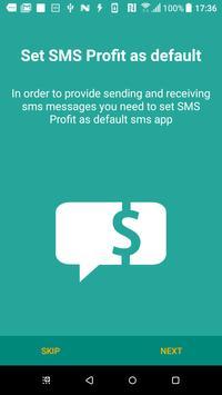 SMS Profit captura de pantalla 3