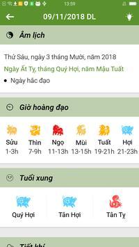 Lich Van Nien 2019 - Lịch Vạn Niên 2019 screenshot 1