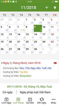 Lich Van Nien 2019 - Lịch Vạn Niên 2019 screenshot 2