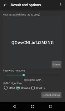 pa55: remembering passwords screenshot 1