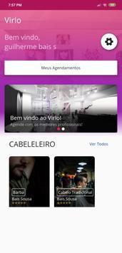 Virlo - O seu app de salão de beleza screenshot 1