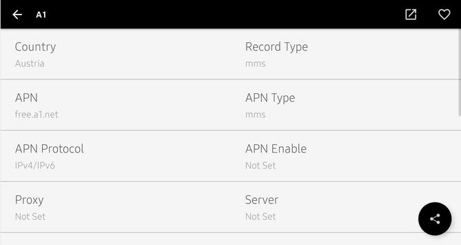 APN Settings screenshot 10