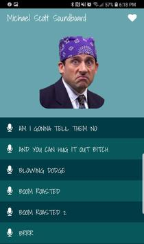 Michael Scott Soundboard poster