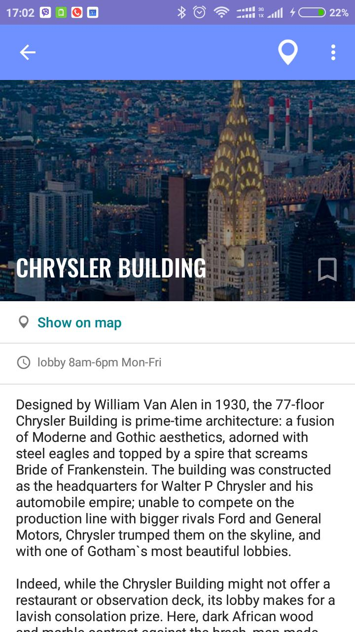 New York Travel Map Guide with Events 2019 for Android - APK