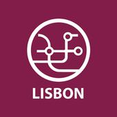 Lisbon public transport routes 2020 icon