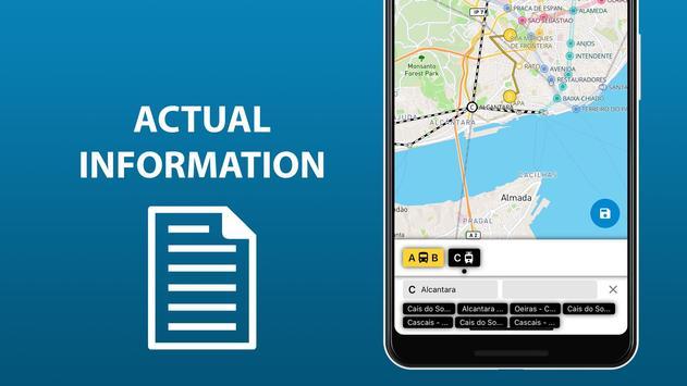 Lisbon public transport routes 2020 screenshot 6