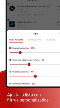 AppSales captura de pantalla 4