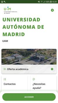 UAM App poster