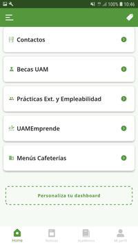 UAM App screenshot 2