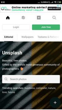 unsplash poster