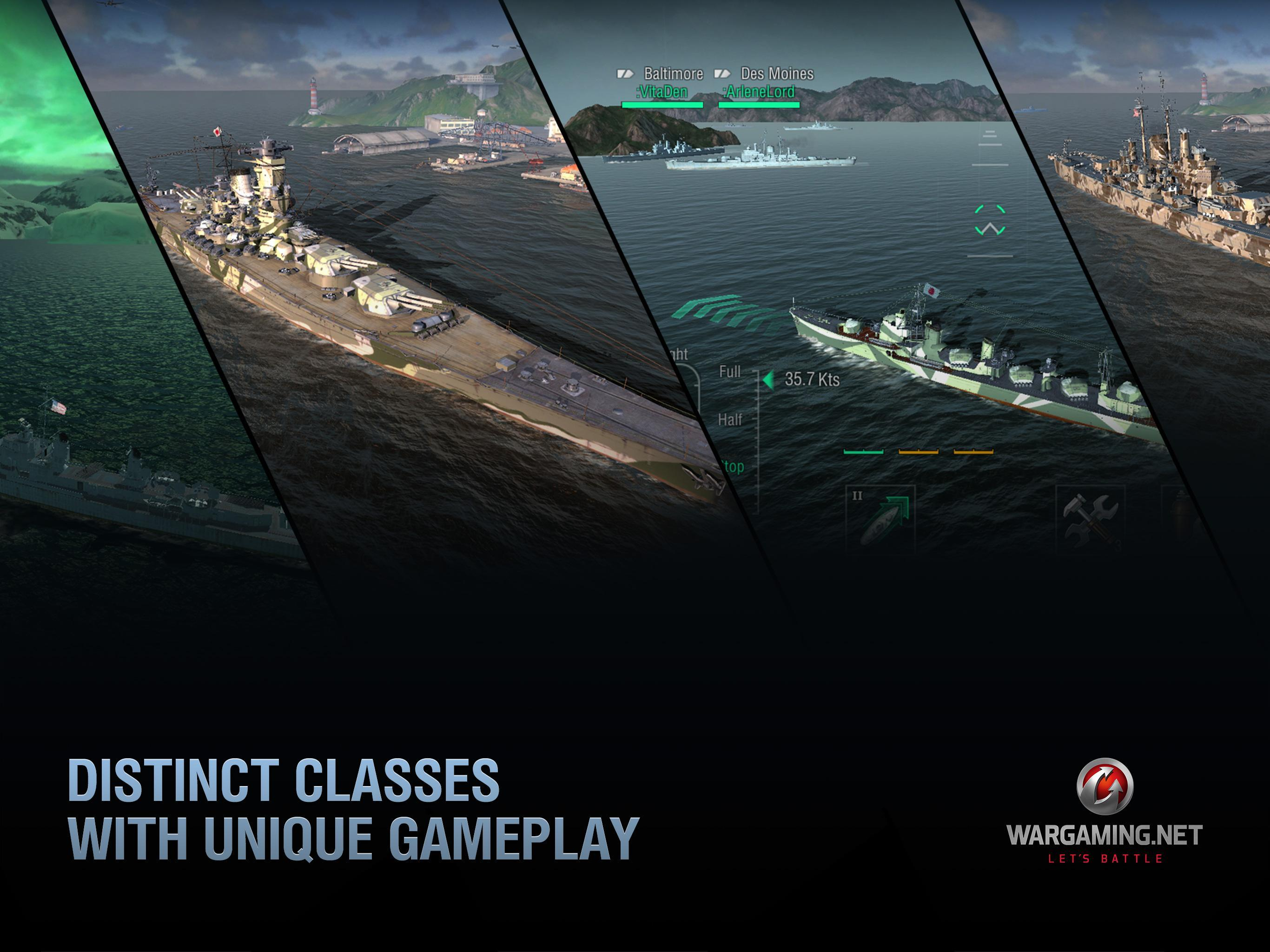 World of Warships Blitz: Gunship Action War Game for Android