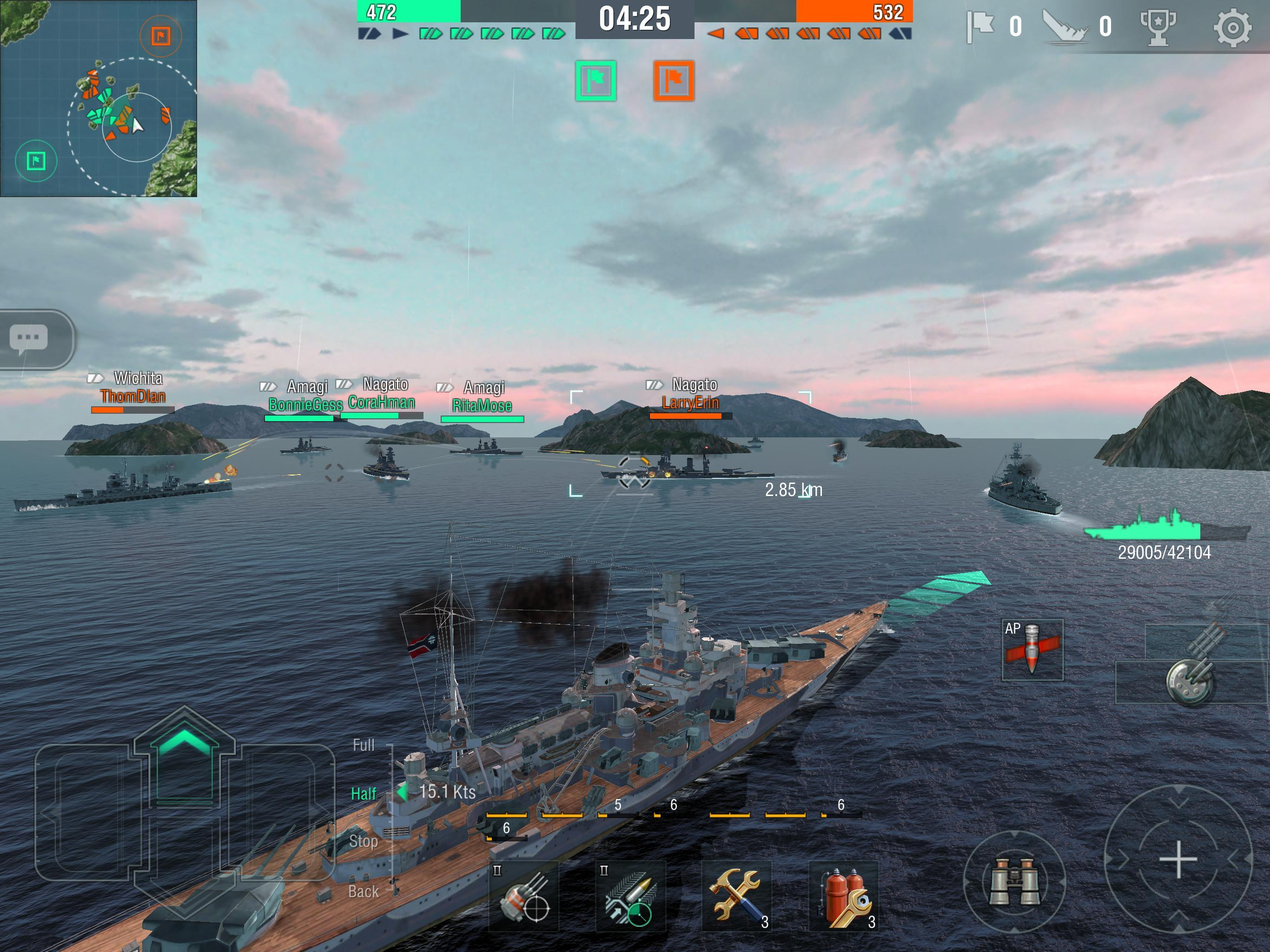 World Of Warships Blitz Gunship Action War Game For Android Apk Download