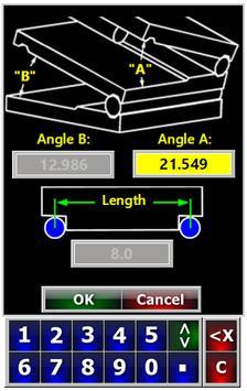 Sine Bar Setup  Compound Sine Plate Calculator screenshot 1