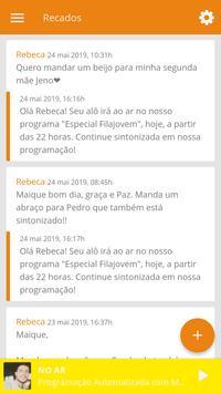 Rádio Filajovem Web screenshot 4