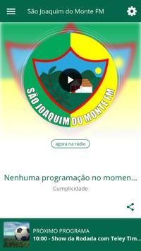 São Joaquim do Monte FM poster