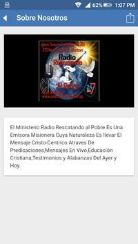 Radio Rescatando al pobre screenshot 3