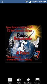 Radio Rescatando al pobre poster