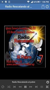 Radio Rescatando al pobre screenshot 6