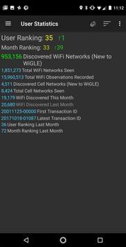 WiGLE WiFi Wardriving 截圖 7