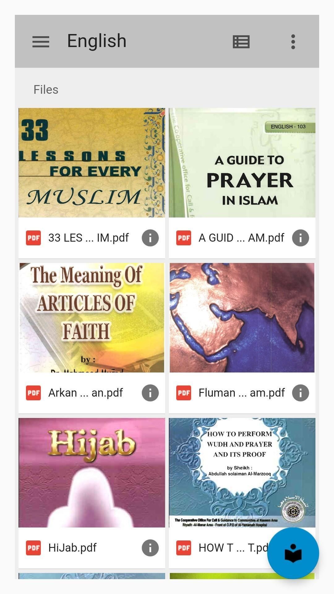 Islamic Library poster