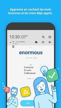 WordBit Anglais (mémorisation automatique ) screenshot 3