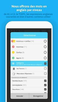 WordBit Anglais (mémorisation automatique ) screenshot 5