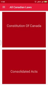 All Canadian Laws poster