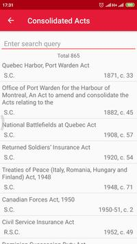 All Canadian Laws screenshot 3