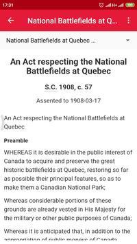 All Canadian Laws screenshot 4