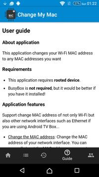 Change My MAC - Spoof Wifi MAC screenshot 5