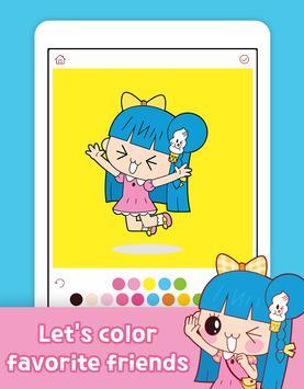 Banzi's Secret Diary Coloring Book screenshot 8