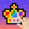 Pixel ColorFil ícone