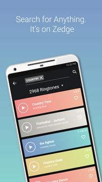 ... ZEDGE™ Ringtones & Wallpapers screenshot ...