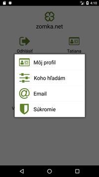 Zoznámenie zomka.net screenshot 3