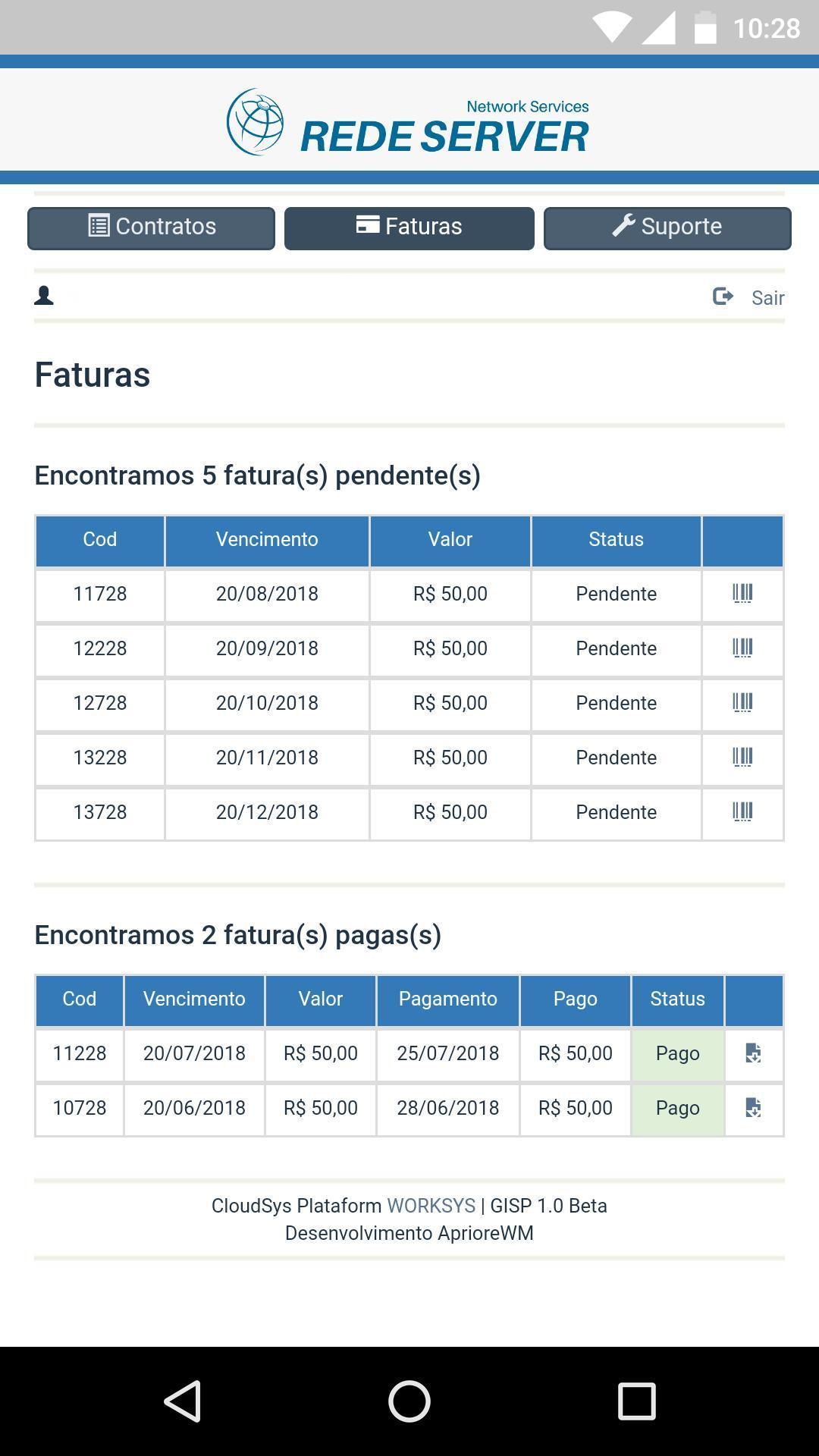Rede Server Telecom For Android Apk Download