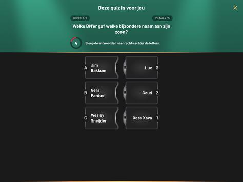 Deze quiz is voor jou screenshot 6