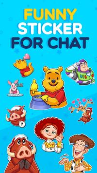 ANIMATED WAstickerApps Funny Caricatures screenshot 5