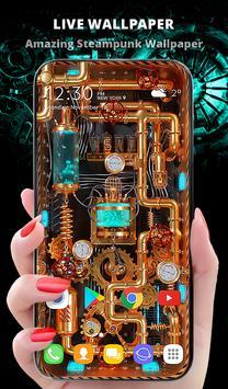 New Wallpaper App 2021 - Steampunk Energy poster