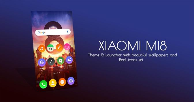 Theme for Xiaomi Mi-8 for Android - APK Download