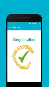 Free Opera VPN :Unlimited VPN Updates Guide screenshot 4