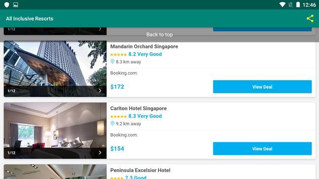 All Inclusive Resorts screenshot 10