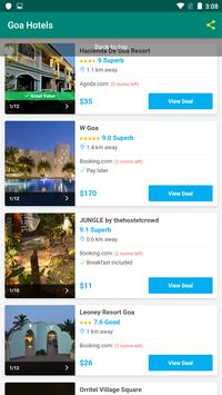 Goa Hotels screenshot 4