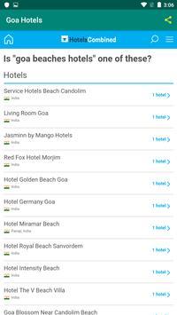 Goa Hotels screenshot 6