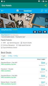 Goa Hotels screenshot 1