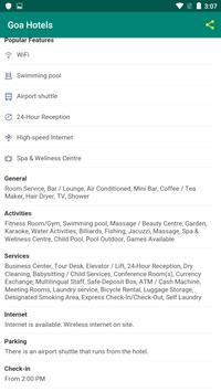 Goa Hotels screenshot 3