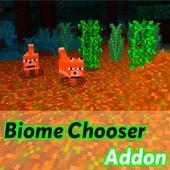 Biome Chooser Addon for minecraft icon