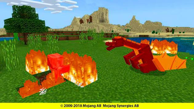 Dragons mounts for minecraft addon screenshot 4