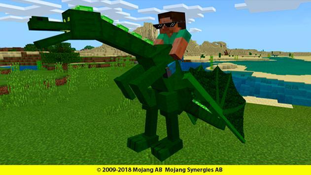 Dragons mounts for minecraft addon screenshot 6
