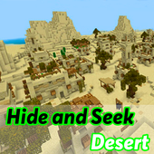 Hide and Seek map for mcpe: Desert icon