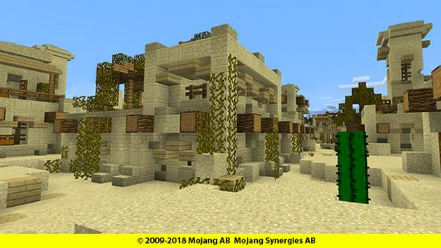 Hide and Seek map for mcpe: Desert screenshot 5